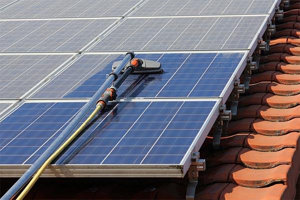 photovoltaik solar reinigung